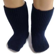 Knit Sport Socks-Navy