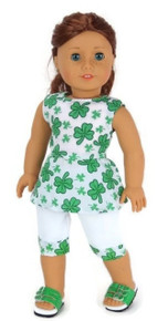 St Patrick's Day Capri Outfit