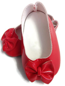 Bow Shoes-Red