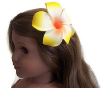 Hawaiian Hair Clip-Yellow