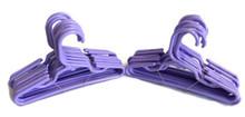 Hangers-Lavender Plastic 2 Dozen