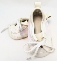 Vinyl Tennis Shoes-White