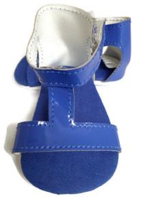 T-Strap Sandals-Royal Blue