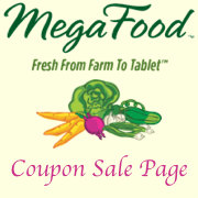Megafood Coupon Sale