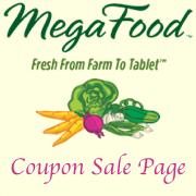 Megafood Coupon Sale