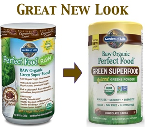 Raw Organic Perfect Food New Look