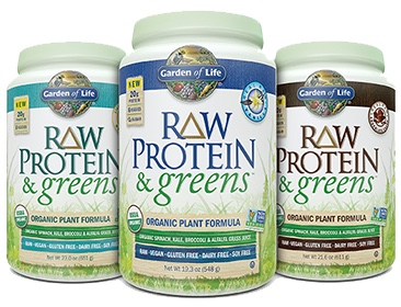 RAW Protein & greens is a Certified USDA Organic and Non-GMO Project Verified combination of clean organic plant protein and organic veggies.