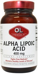 Alpha Lipoic Acid 400 mg 60 Capsule