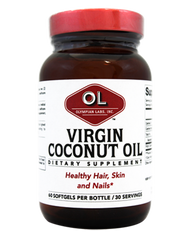 Coconut Oil 1000 mg 60 Softgels