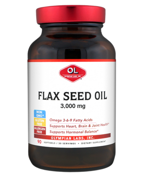 Olympian Labs, Flax Seed Oil