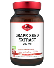 Grape Seed Extract Extra Strength 200 mg 100 Capsules