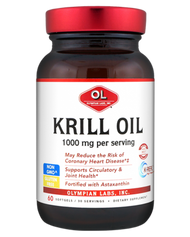 Olympian Labs Krill Oil 1000 mg 60 Softgels