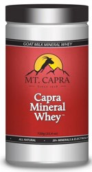 Mt Capra Mineral Whey Facts