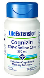 Cognizin CDP Choline 250 mg 60 Capsules