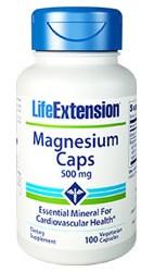 Magnesium 500 mg 100 Capsules