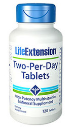 Two Per Day Tablets 120 Veg Tablets
