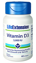Vitamin D3 5000 IU 60 Softgels