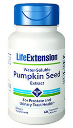 Water Soluble Pumpkin Seed Extract 60 Capsules
