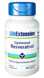 Optimized Resveratrol 250 mg, 60 capsules