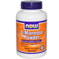 Now Foods D-Mannose 3 oz powder