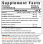 Kids Daily Immune Nutrient Booster Powder Facts
