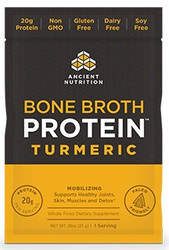Bone Broth Protein Turmeric Single Serving Pack