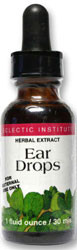 Eclectic Institute Ear Drops 1 oz