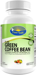 Divine Health Pure Green Coffee Bean Extract 400 mg 60 Capsules