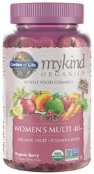 MyKind Organics Women's 40 Plus Gummy Multi 120 Fruit Chews