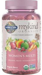 MyKind Organics Womens Gummy Multi 120 Fruit Chews