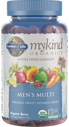 MyKind Organics Mens Gummy Multi 120 Fruit Chews