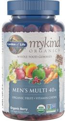 MyKind Organics Mens 40 Plus Gummy Multi 120 Fruit Chews