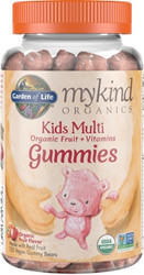 MyKind Organics Kids Gummy Multi 120 Fruit Flavor Chews