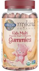 MyKind Organics Kids Gummy Multi 120 Cherry Flavor Chews