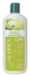 GPB Glycogen Protein Balancing Shampoo by Aubrey Organics works with all hair types, giving a healthy, balanced protein-rich blend of fruit acids, herbal moisturizers, and vitamins. GPB Balancing Shampoo rehydrates and reenergizes hair to leave it lustrous.