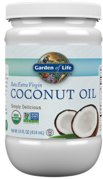 Coconut Oil Extra Virgin 14 oz Plastic Jar