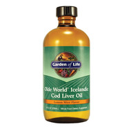 Icelandic Cod Liver Oil 8 oz Liquid
