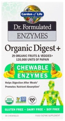 Dr Formulated Organic Digest 90 Chewable Tablets