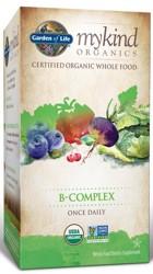 MyKind Organics B Complex 30 Tablets