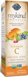 MyKind Organics Amla Vitamin C Orange Tangerine 2 oz Spray