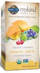 MyKind Organics Vegan D3 Chewable 30 Raspberry-Lemon Tablets