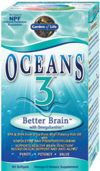 Oceans 3 Better Brain 90 Softgels