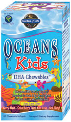 Oceans 3 Kids Chewable 120 Softgels