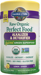 Perfect Food Raw Alkalizer Detoxifier 285 gram Powder