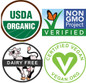 Garden of Life Perfect Food Raw Wheat Grass Juice Certifications
