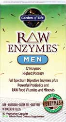 RAW Enzymes Men 90 Capsules