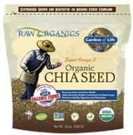 Raw Organics 12 ounce Organic Omega 3 Chia Seeds