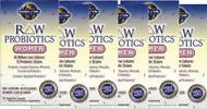 RAW Probiotics Women 90 Capsules, CASE of 6