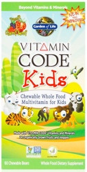 Vitamin Code Kids 60 Bears