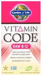 Vitamin Code Raw B-12 30 Capsules
